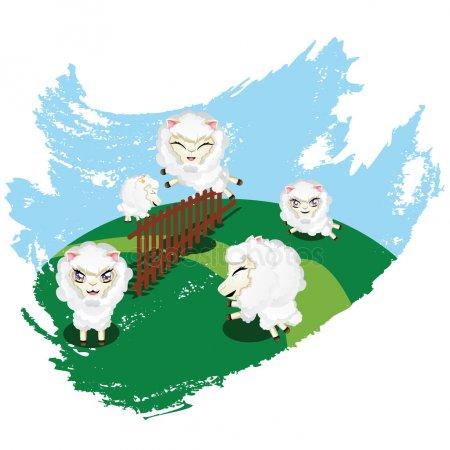 sheepjumping